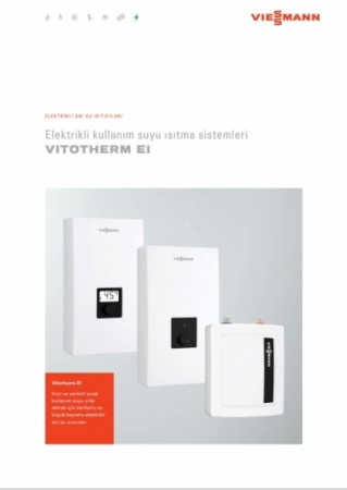 Viessmann Elektrikli Ani Su Isıtıcı  Vitotherm EI